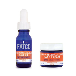 MOISTURIZING POWER PACK, PREGNANCY SAFE-FATCO Skincare Products paleo skincare myrrhaculous tallow balm face cream oil serum pregnancy safe