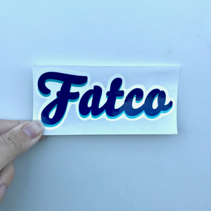 FATCO Sticker - Die Cut FATCO logo