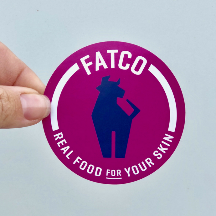 FATCO Sticker - Pink Circle