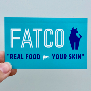 FATCO Sticker - Blue Logo