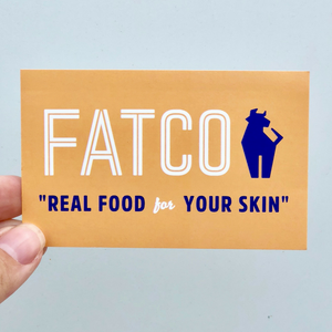 FATCO Sticker - Orange Logo
