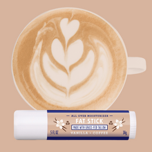 FAT STICK, Vanilla + Coffee, 0.5 OZ