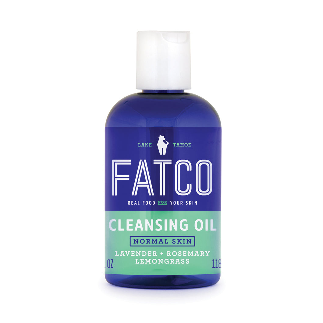 CLEANSING OIL FOR NORMAL/COMBO SKIN 4 OZ-FATCO Skincare Products paleo skincare vegan friendly OCM cleanser normal combination