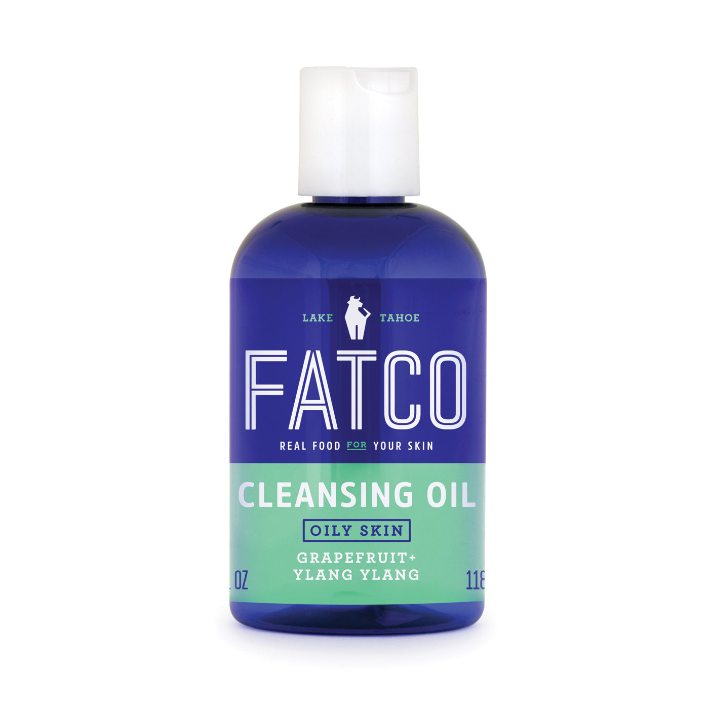 FATCO Cleansing Oil for Oily Skin 4 oz bottle front view