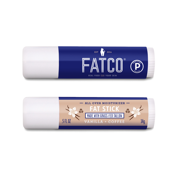 FAT STICK, Vanilla + Coffee, 0.5 OZ 1