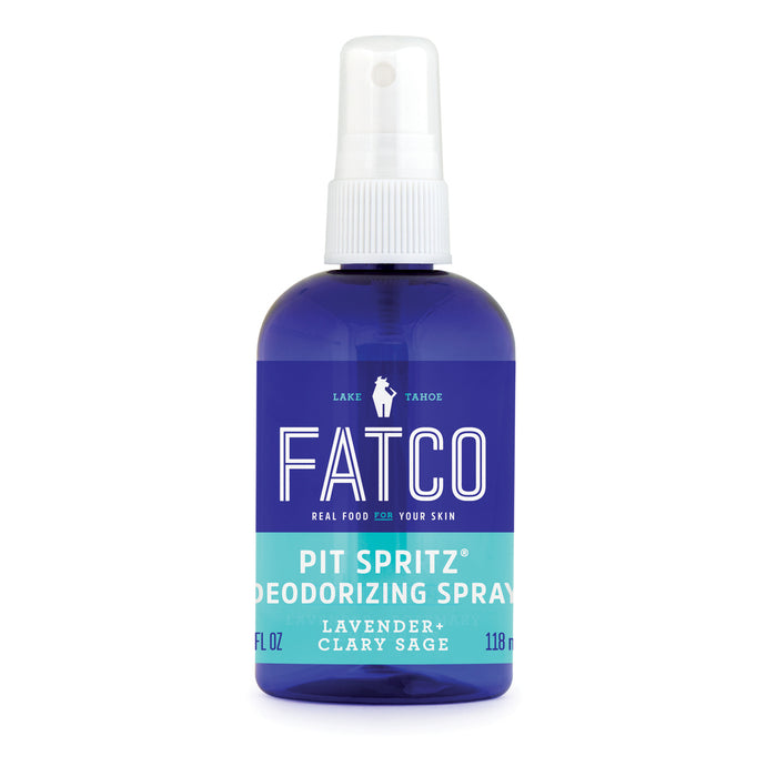 PIT SPRITZ 4 OZ-FATCO Skincare Products paleo skincare natural deodorant spray natural apple cider vinegar body odor