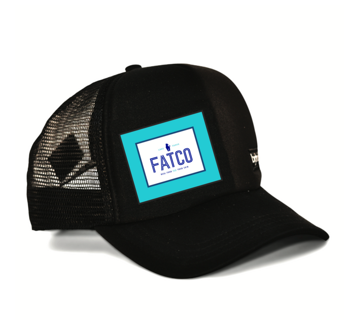 FATCO Big Truck trucker hat cap angled front view