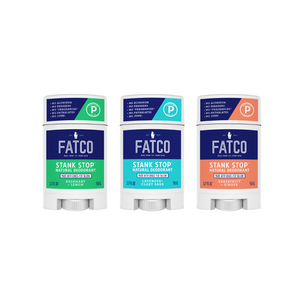 STANK STOP DEODORANT 3-Pack (Build Your Own)-svi_hidden-FATCO1-FATCO Skincare Products grass fed tallow paleo skincare natural deodorant aluminum free