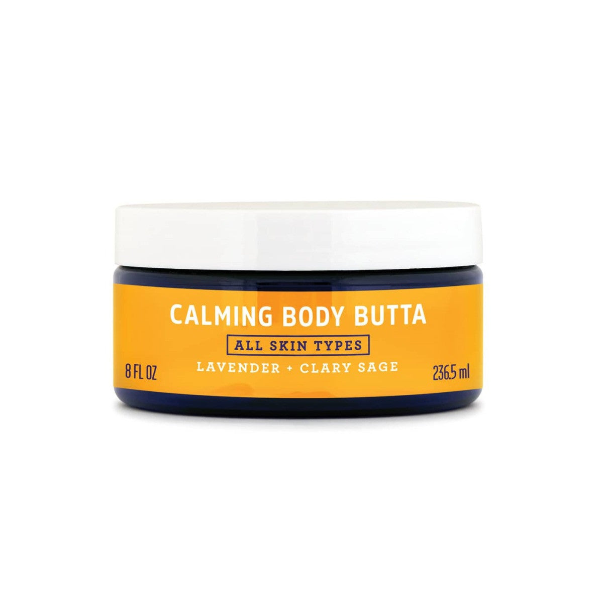 FATCO Calming Body Butta 8 oz jar front view