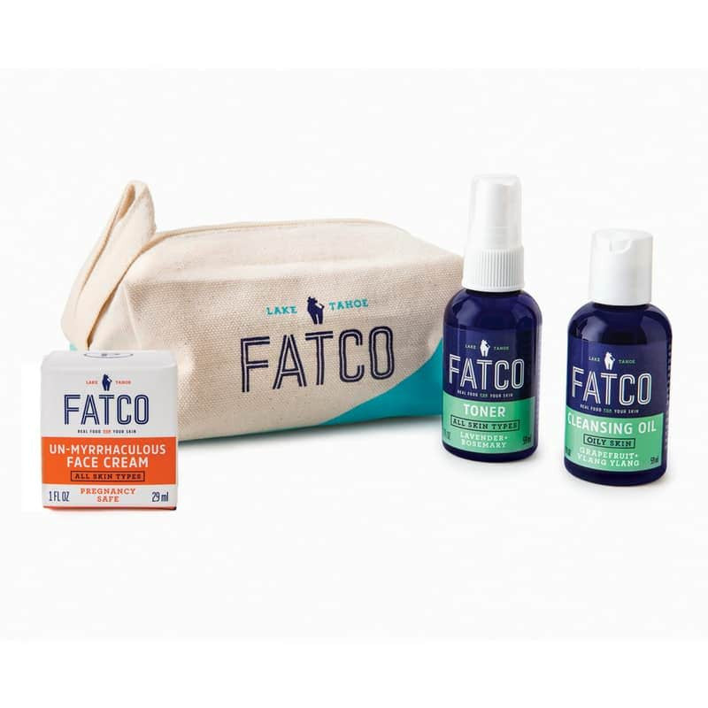 FACIAL SKINCARE SET FOR OILY SKIN, PREGNANCY SAFE