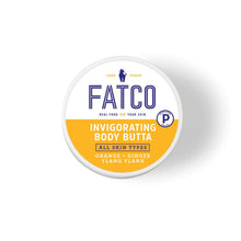 FATCO Invigorating Body Butta 4 oz jar top view