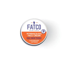 FATCO Myrrhaculous face Cream 1 oz jar top view