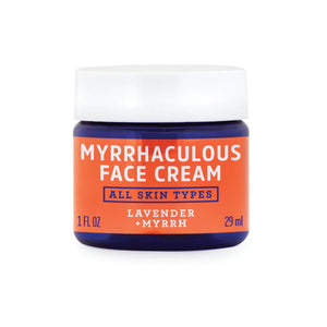 FATCO Myrrhaculous face Cream 1 oz jar front view
