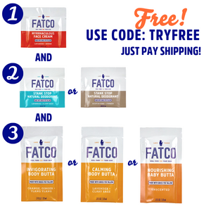 Sample Starter Kit-FATCO Skincare Products paleo skincare tallow balm
