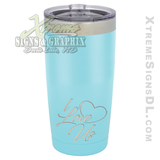 20oz. Tumbler - I Love Us