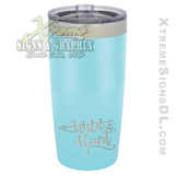 20oz. Tumbler - Wild at Heart Bow