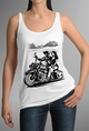 BAGGER HARLEY TATTOO Design - WOMENS TANK TOP