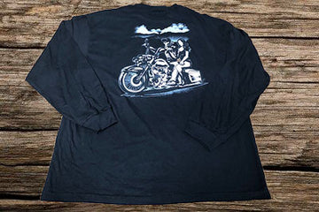 BAGGER HARLEY TATTOO Design - PRESHRUNK LONG SLEEVE SHIRT