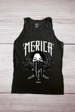 MERICA Masked Tattoo Design - Tank Top