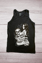 SLIPPIN INTO DARKNESS Tattoo Design- Soft Spun Cotton Tank Top