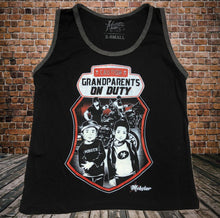 GRANDPARENTS ON DUTY Kids Tank Top