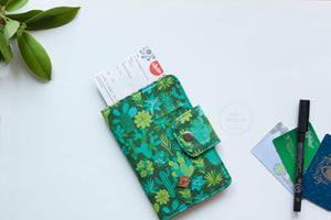 Cacti Dolls Passport Wallet