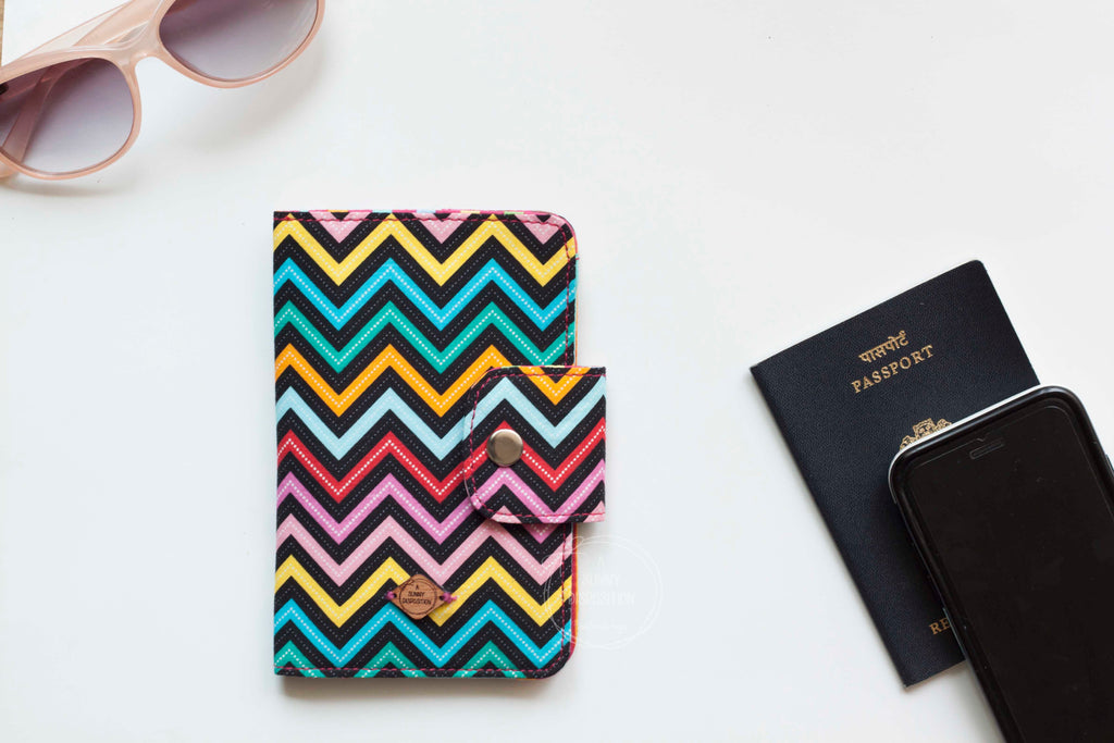 Chevron  Passport Wallet