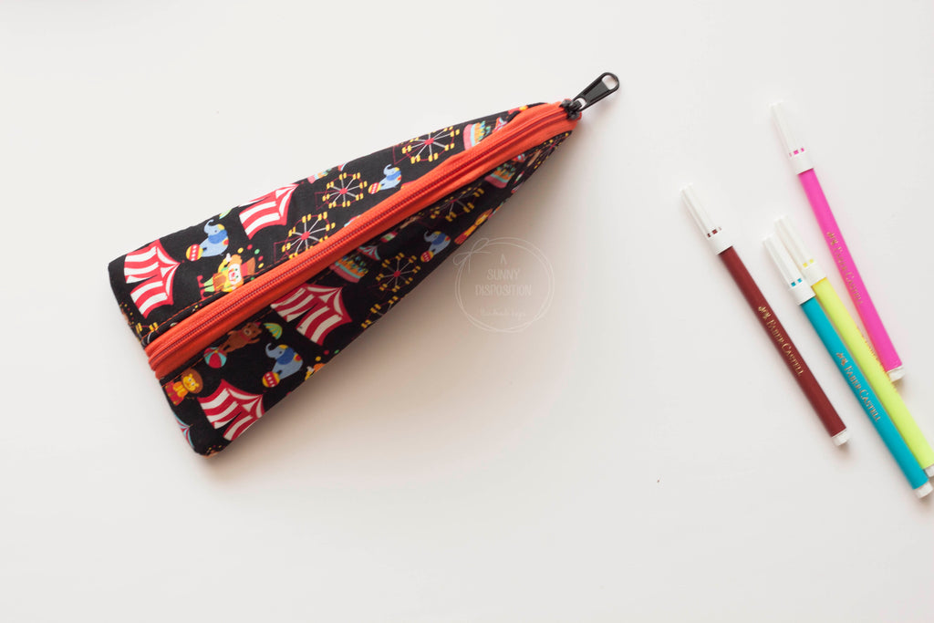 Circus at Night Pencil Case