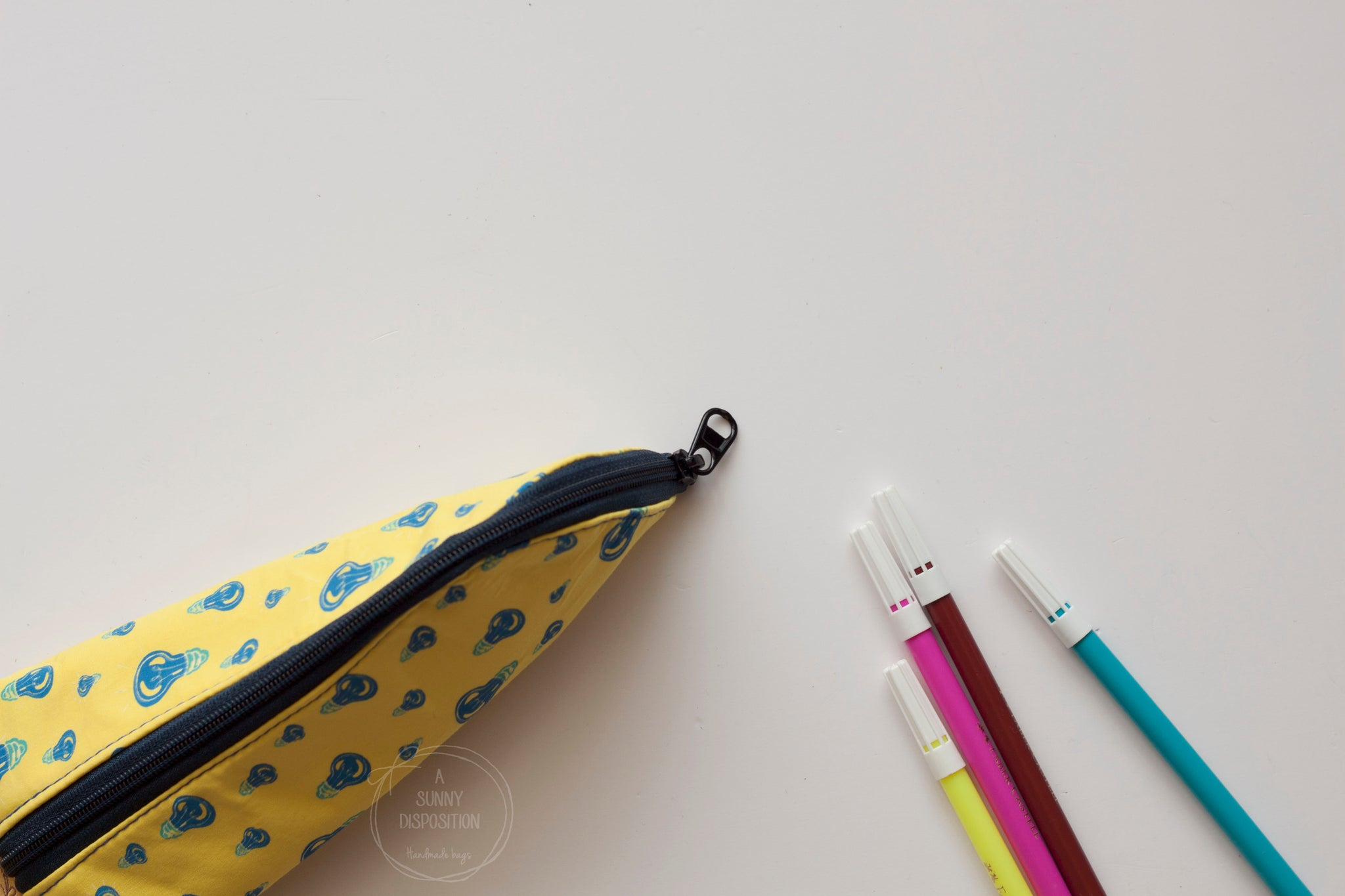 Light Bulb Pencil Case