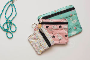Birds of a feather Trio Pouch