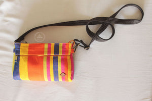 Multi Colour Vibrant Stripes  Mini Sling