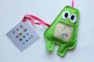 Light Green iSpy Monster Bag