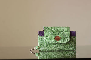 Istambul on Green doodles Phone Wallet