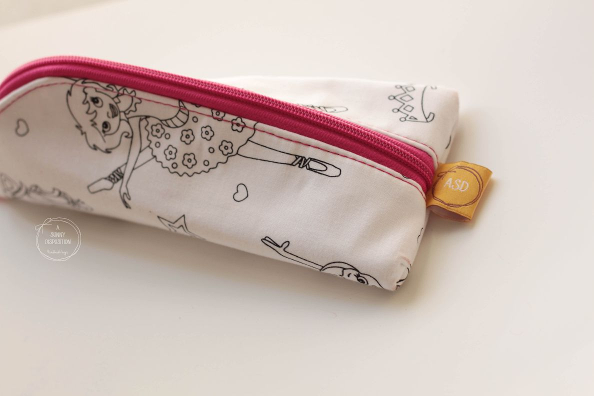 Colour On Me Pencil Pouch-Ballerina
