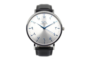 Glacier LE - Black Leather - NORTH ACCENT Inc., Watch watches men women luxury arabic watch classic minimalist,