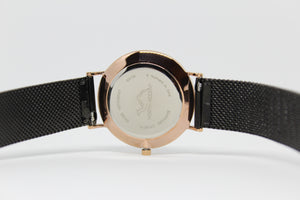 Black Stainless Steel - Rose Gold - Black - NORTH ACCENT Inc., Watch watches men women luxury arabic watch classic minimalist,