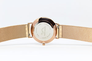 Rose Gold Stainless Steel - Rose Gold - Black - NORTH ACCENT Inc., Watch watches men women luxury arabic watch classic minimalist,