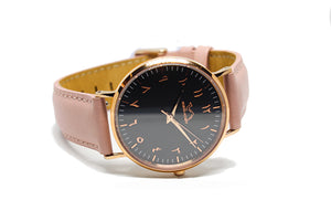 Coral - Black Rose - NORTH ACCENT Inc., Watch watches men women luxury arabic watch classic minimalist,