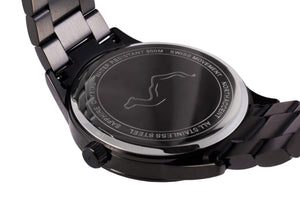 GRAND Black - Full Moon - NORTH ACCENT Inc., Watch watches men women luxury arabic watch classic minimalist,