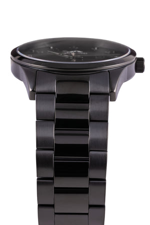 GRAND - Black Gunmetal Rose - NORTH ACCENT Inc., Watch watches men women luxury arabic watch classic minimalist,