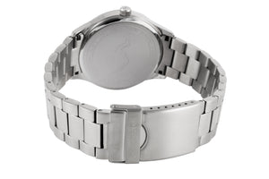 GRAND | Silver Gunmetal - NORTH ACCENT Inc., Watch watches men women luxury arabic watch classic minimalist,