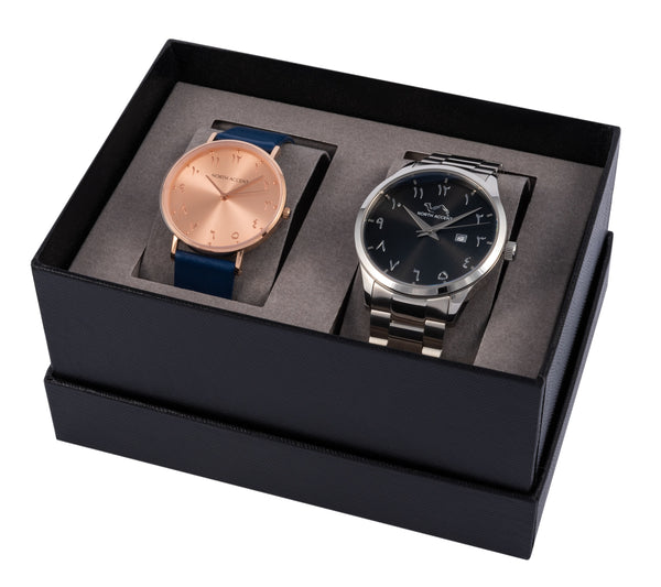 Gift Set - Choose Any 2 Watches - NORTH ACCENT Inc., Watch watches men women luxury arabic watch classic minimalist,
