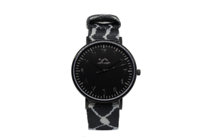 Black Kufiya - Black - NORTH ACCENT Inc., Watch watches men women luxury arabic watch classic minimalist,