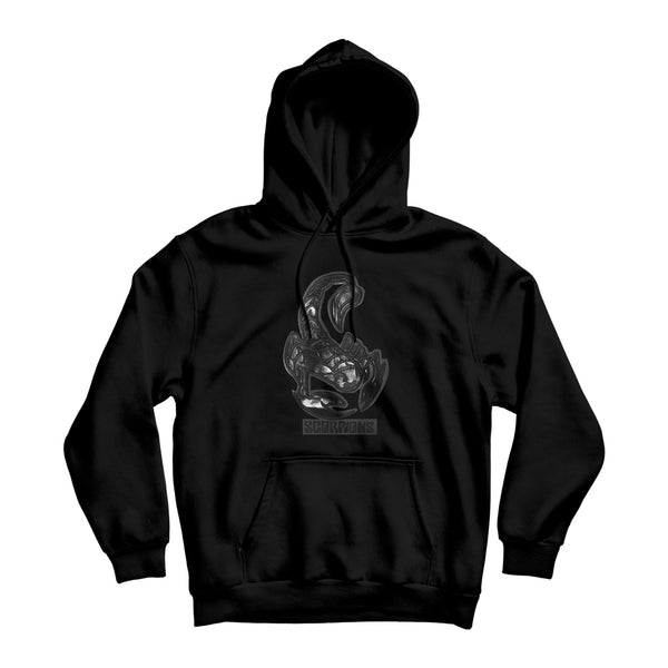 Leather Scorpion Hoodie