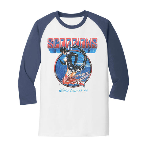 Scorpions Savage Amusement Raglan