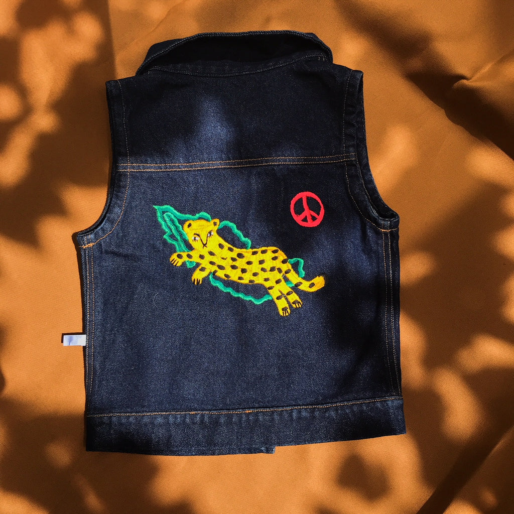 JAGUAR DENIM VEST
