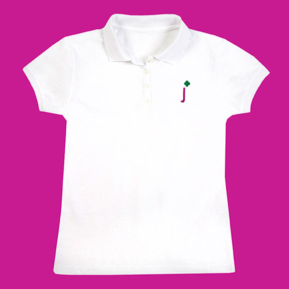 Girl Scout Junior Polo Medium - 00202