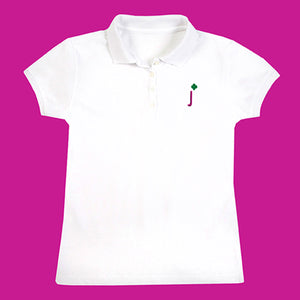 JUNIOR PLUS SIZE POLO - 0021