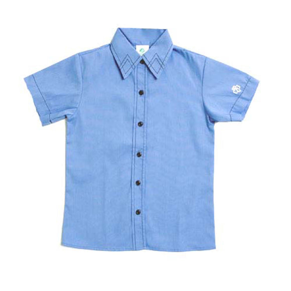 BROWNIE SHORT SLEEVE SHIRT SIZE 12 1/2 - 01364
