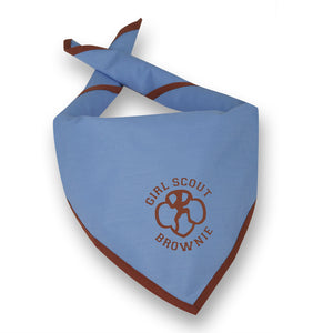 GS OFFICIAL BROWNIE SCARF - 01930